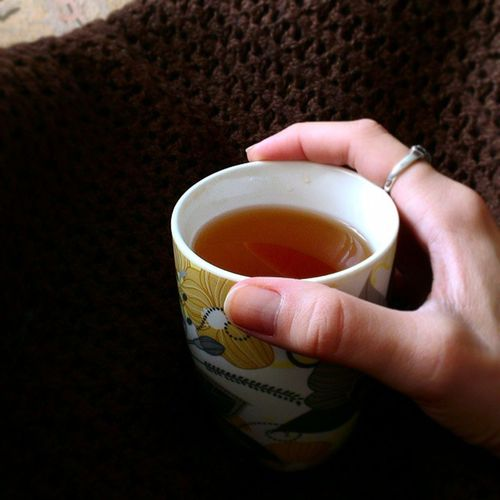 Я утоплю свои печали в чае ... 🍵⛅ Tea Sadness warm
