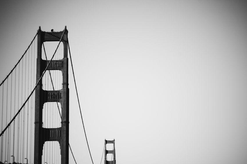 Architecture Bridge Built Structure Day Golden Gate Bridge No People Outdoors San Francisco Sky Travel