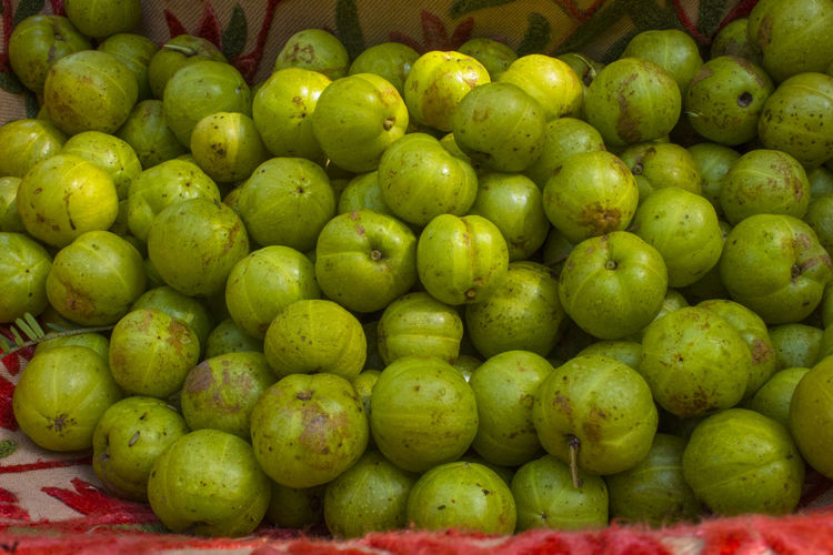 Fresh gooseberry Abundance Backgrounds Close-up Day Food Food And Drink Freshness Fruit Full Frame Gooseberries Gooseberry Gooseberry Fruit Green Color Healthy Eating Large Group Of Objects Market No People Outdoors Retail