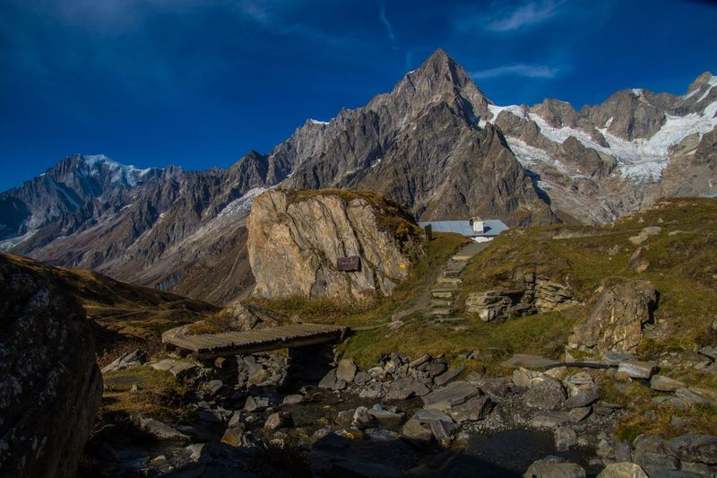 mallatra,val ferret,courmayeur,italy Mountain Rock Solid Mountain Range Rock - Object Scenics - Nature Sky Environment Nature Landscape Beauty In Nature Day No People Tranquility Tranquil Scene Cloud - Sky Non-urban Scene Formation Cold Temperature Outdoors Mountain Peak