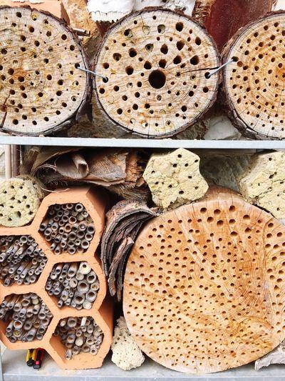 Wild bee hotel