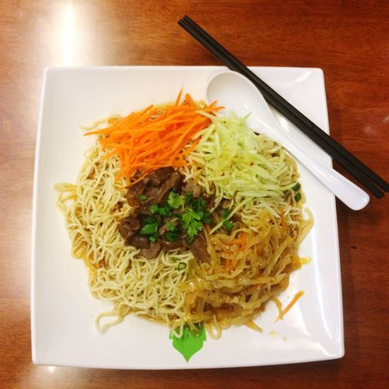 Noodles Mutton Deli Dinner Vege Yummy