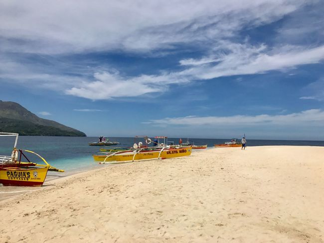 White Island Camiguin White Island Camiguin Philippines Sea Sky Beach Cloud - Sky Beauty In Nature Water Scenics Sand Nature Nautical Vessel Tranquility Transportation Day Horizon Over Water Tranquil Scene Outdoors Moored Outrigger No People (null)Beauty In Nature