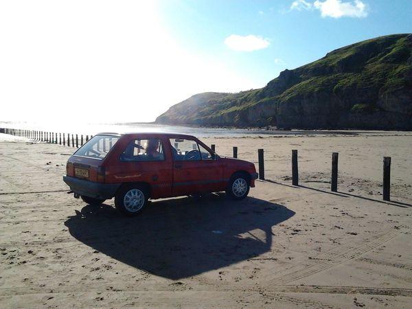 My classic Nova at Brean Down Birthday Burnham On Sea