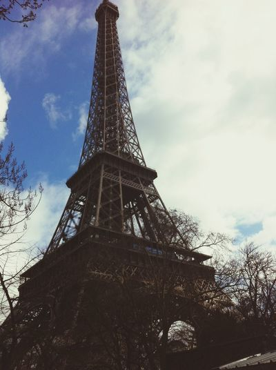 My picture of the Eiffel tower Paris