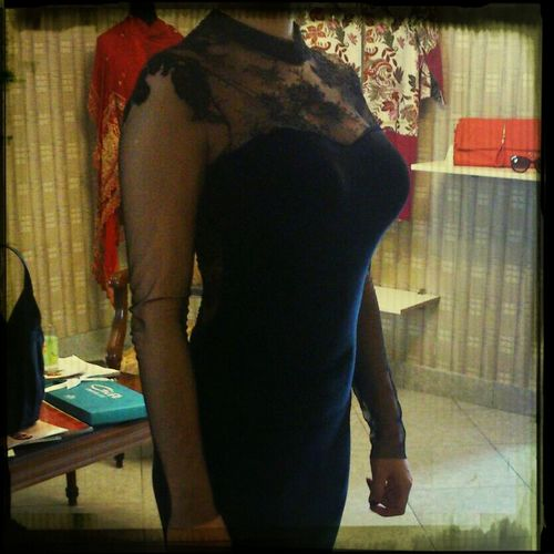 Fashion Design Blackgown Madebyhand