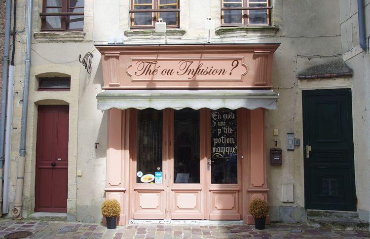 France Frankreich ♥ Geschäft Normandie Architecture Building Exterior Built Structure Day Door Entrance Entry Façade No People Normandy Outdoors Text Window