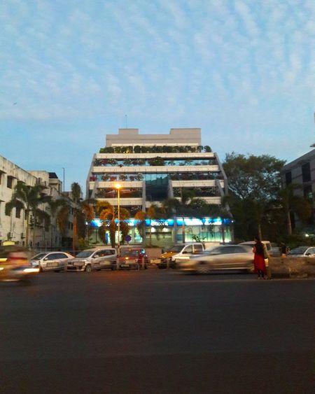 Citi Bank,Anna salai,chennai Chennai Mobilephotography Travel Photography Travel EyeEm Gallery Eyem Skyblue Eveingphotography Citibank Tamilnadu