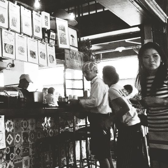 Jap Restaurant Bnw Streetphotograpy Singapore