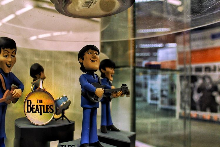 Fantastic Four The Beatles The Beatles Museum Scale Model On Display Private Collection On Display Canon 1300d