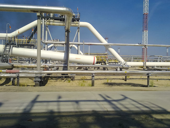 Oil Oil Pump Gas Gasprom Rosneft Refinery Industry Day Sky No People Pipe - Tube Built Structure Nature Architecture Fuel And Power Generation Metal Factory Pipeline Outdoors Sunlight Clear Sky Connection Technology Water Building Exterior Transportation Industrial Equipment