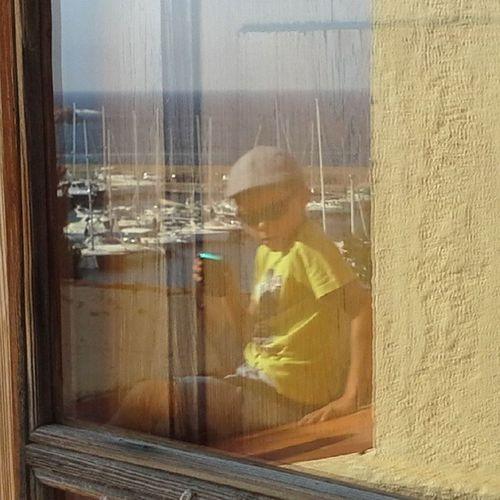 Reflexes al Port de Sant Feliu amb @aniolsi InstaGuixols Emporda Incostabrava Guiixols TimbaladaGanxona @costabravapirineu