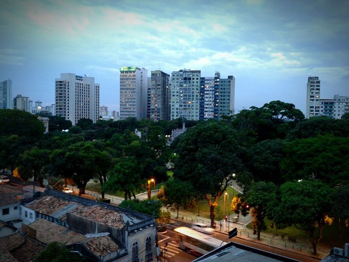 Praça Da República BelémParáBrasil Mangotree Urban Architecture Skyscrapers City Skyline EyeEmBestPics Landscape_photography Brazil Sunset_collection