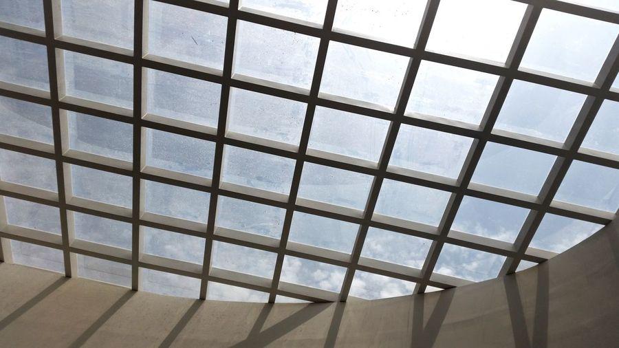 Indoors  Window Pattern Day No People Modern Sky EyeEmNewHere