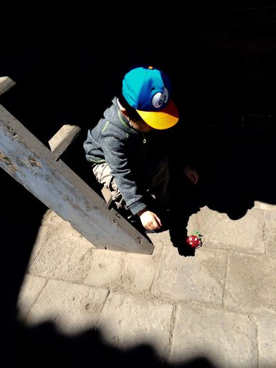 Natural Light Portrait Boy Pingyao China Sunlight China Photos Traveling In China Portrait Of A Child Sitting Alone Staircase Collection Staircase Showcase June IPhone Photography People And Places