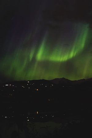 Northern Lights Amazing View Alaska WOW Exchange Student Landscape Nature AFS Traveling