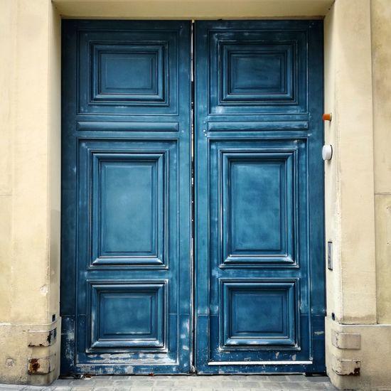Blue door Door