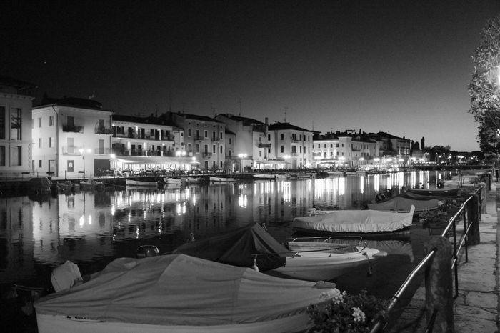 Monochrome Photography Italy Italia PeschieraDelGarda Light And Reflection