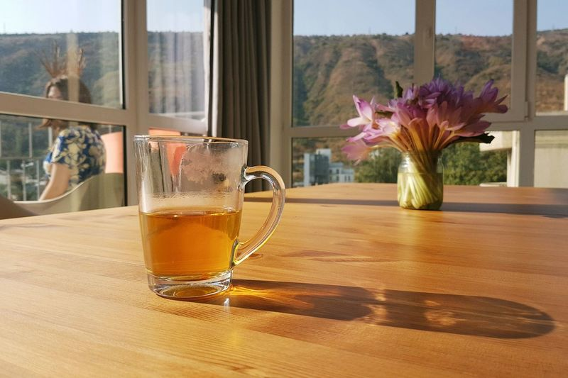 Morning glory Vase Flower Window Table Indoors  Drinking Glass Home Interior Day Window Sill Curtain Drink Looking Through Window No People Fragility Plant Water Bouquet Flower Head Freshness Nature Tbilisi Georgia Tbilisi Morning Light Be. Ready. Food Stories Love Yourself The Still Life Photographer - 2018 EyeEm Awards