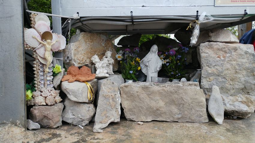 Religion And Tradition Maria Emiliano Perani Religion God Holy Mountain Outdoors Cristianity Religious Statues Religious Symbols Cross Marie Madonna Sacre Coeur No People Oracle All Saints