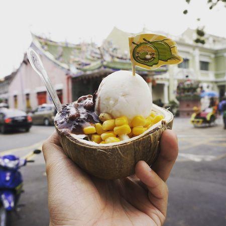 Street Food Worldwide Coconut Icecream🍦 Penangfood Thailand