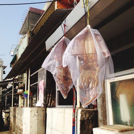 南ㄚ島曬魷魚有一套 Hong Kong Eat