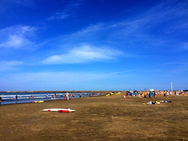 SandyBeach Enjoying Life EyeEm Gallery IPhoneography Sea And Sky Summer Life Is A Beach Beach Photography