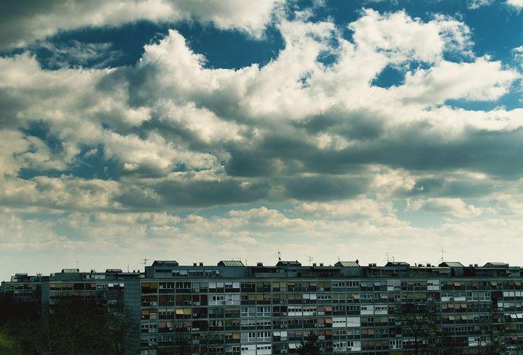 Clouds Clouds And Sky Zagreb Neighborhood Urban