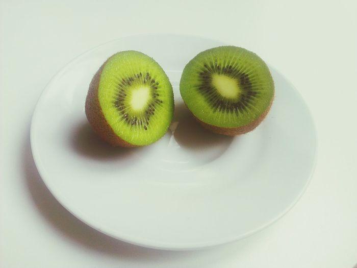 Kiwi - fruit in plate