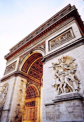 The Arc de Triomphe de la place Charles de Gaulle, Paris