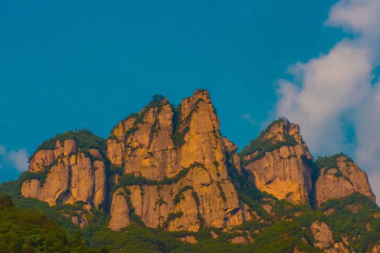 China Photos Nature Zhejiang,China Karst Mountain Ziseetheworld Ziwang Mountain Range Mountain Rock
