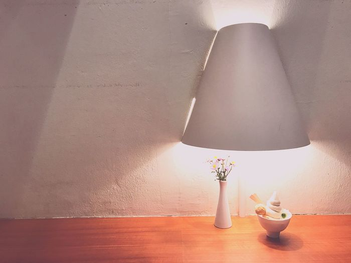 Live For The Story Table Indoors  Electric Lamp No People Close-up Ice Cream Sunmer Dessert Enjoysummer