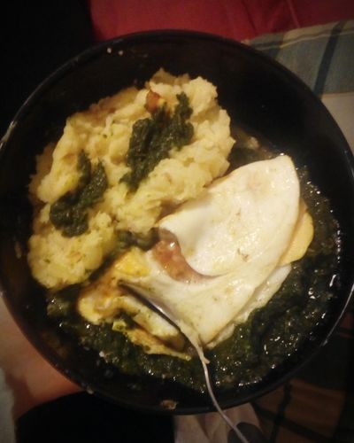 Happiness Slovakiagirl Cooking Homemade Food Food Porn Spenat Spinach Mashed Potatoes Pure Orgasm