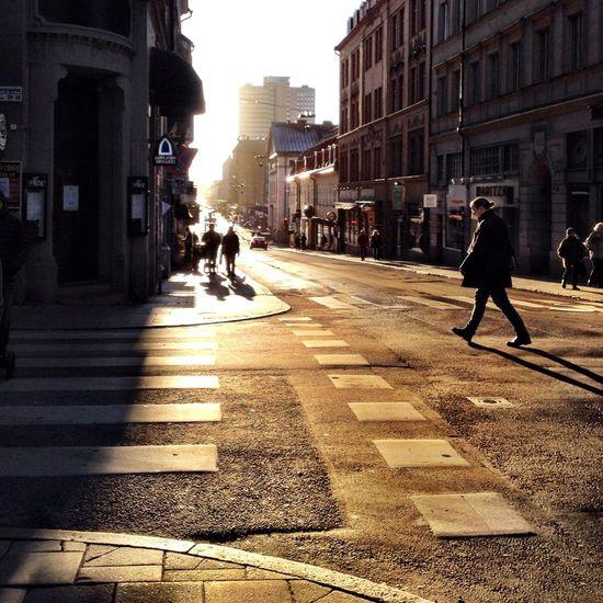 Sunrise Hello World Streetphotography City Life