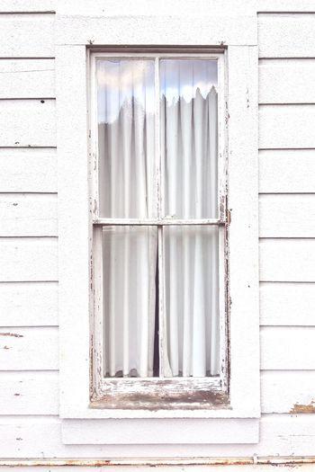 EyeEm Selects Window Glass Reflection White Old Siding Weathered Quail Hollow Ben Lomond California United States