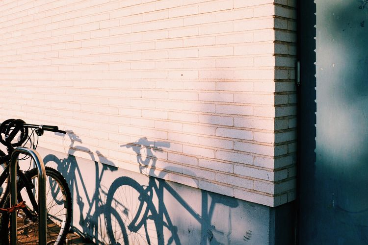 Wall Façade Shadow Light And Shadow Bike Creative Light And Shadow Door Building Parking Bycicle Bricks Atmospheric Mood Minimalism Minimalist Minimalobsession Simplicity Noon Outdoors Natural Light Streetphotography Urban Urbanexploration Composition Perspectives New Years Resolutions 2016