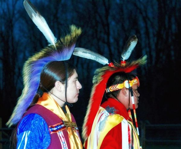 Proud Native Dancers Headdress Native American Indian Native Dancer Native Pride Cultural Heritage Authentic Moments Nightphotography Proud Eyemphotography EyeEm Gallery