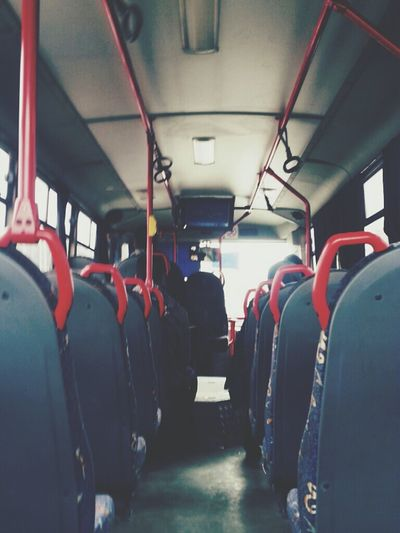 On My Way On The Road Bus