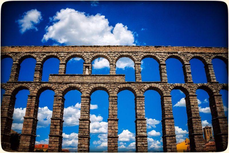 Aqueduct Roman Architecture Segovia SPAIN The Explorer - 2014 EyeEm Awards