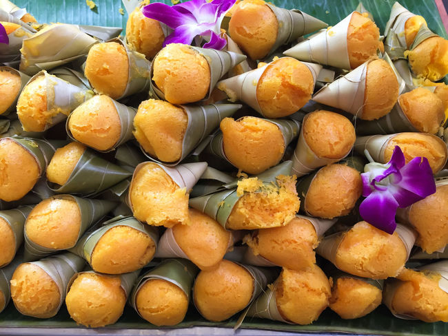 Colorful Traditional Thai Dessert in Thailand Cake Luk Tarn Thailand Toddy Palm Cake (Thai Dessert) – Cake Luk Tarn Traditional Thai Dessert Arrangement Close-up Colorful Day Dessert Food Food And Drink Freshness Indoors  Large Group Of Objects No People Ready-to-eat Sweet Sweet Food Temptation Thai Dessert Traditional Dessert In Thailand