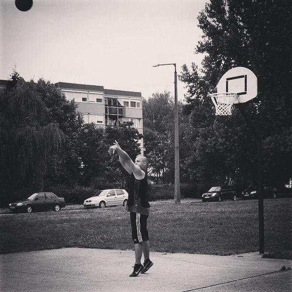 Shooting Followthrough Streetball Hoop