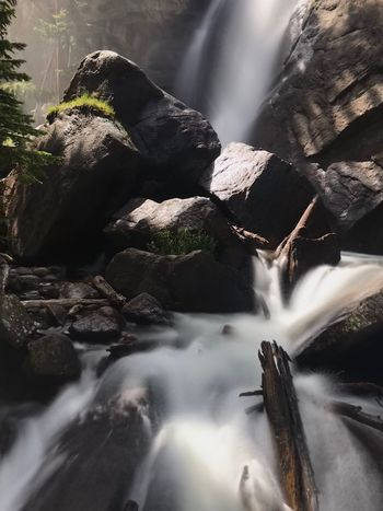 Waterfall Nikond3200 Nikonphotography Long Exposure Water Flowing Water Nature Motion No People Day Beauty In Nature Falling Water Outdoors Flowing Rock Waterfall Blurred Motion Scenics - Nature Sunlight Rock - Object
