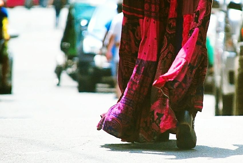 Skirt One Woman Only One Person City Manila Philippines Along The Street. Existential  Longskirt AnncabantingphotosStreet Photography Streetwalking Street Fashion Streetphoto_color Street Style