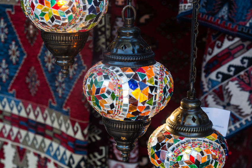 Art Close-up Colorful Colorful Lamps Culture Cultures Decoration Design Focus On Foreground Lamps Multi Colored No People Ornate Sarajevo Bosnia Temple - Building Tradition