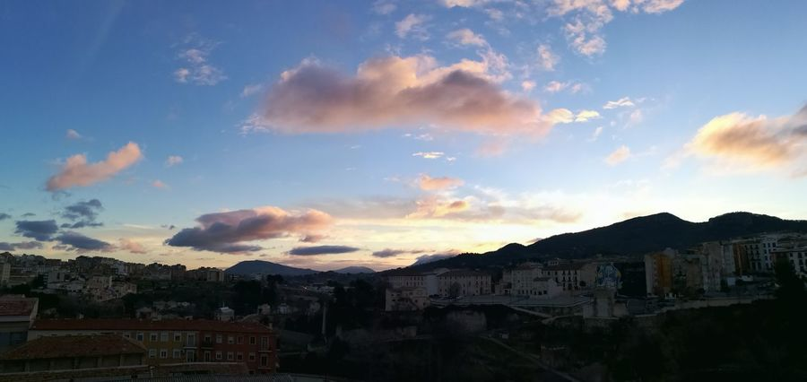 Amanecer Cloud - Sky No People Cityscape Building Exterior Day Sky Nature Tree Frozen Mountain Cold Day Scenics Beauty In Nature Panorama View Alcoy City Winter Morning Light Social Issues Science Built Structure Outdoors Architecture Beauty In Nature