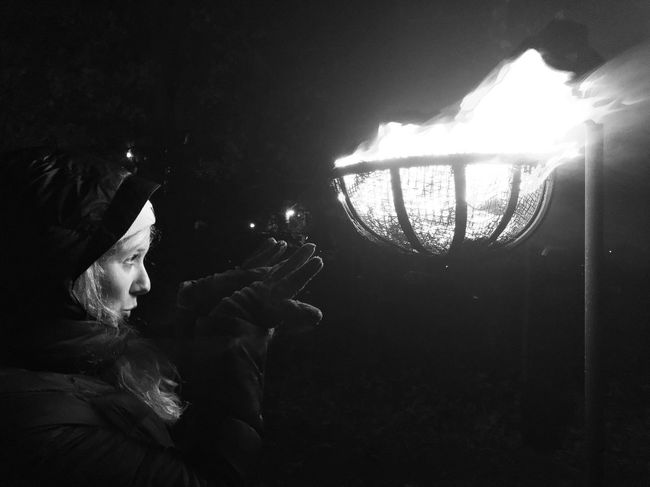 Bewitching Travel Photography Bewitching Magic Black And White Photography Black & White Black And White Blackandwhite Colonial Williamsburg Williamsburg, VA Fire Real People One Person Holding Leisure Activity Lifestyles People Women
