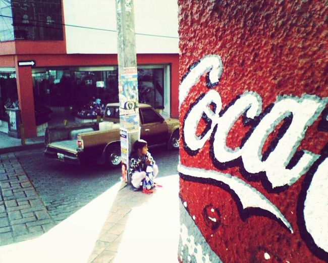Child Mexico Coca Cola Poverty Huichol Indigenous  Poor
