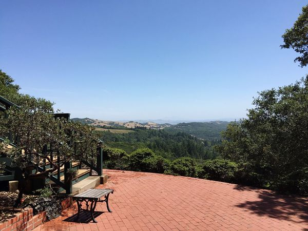 Sonoma Sonoma Wine Country Relaxing Peaceful Rural Hills And Valleys Brick Patio