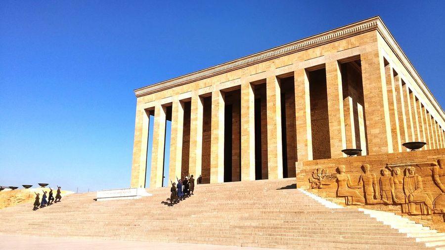 Today Ankara Anitkabir Museum BerkayKarakas