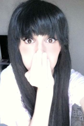 cauai desu nee KAWAII Wig Selfie Uzzlang